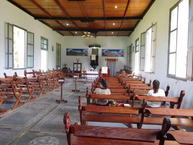 The Dutch Church in Banda Neira
