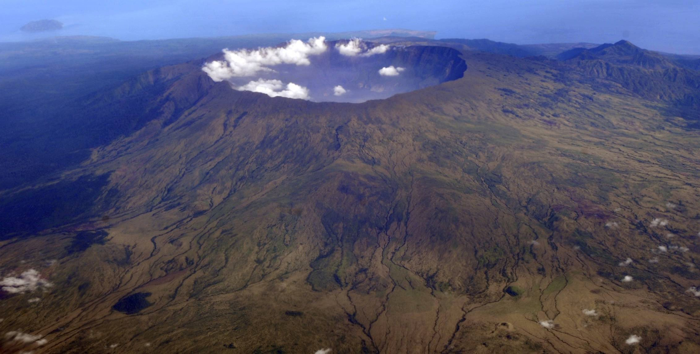 THE BIRTH OF FRANKENSTEIN FROM THE BELLY OF A VOLCANO